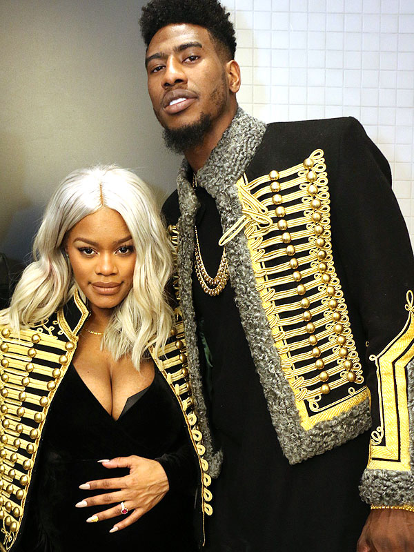 Iman Shumpert and Teyana Taylor Welcome Daughter