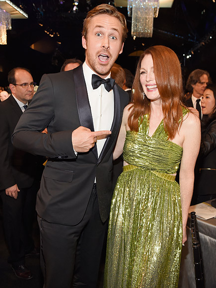 RYAN GOSLING & JULIANNE MOORE