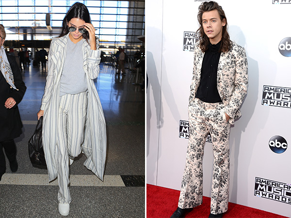 Kendall Jenner Harry Styles Suit