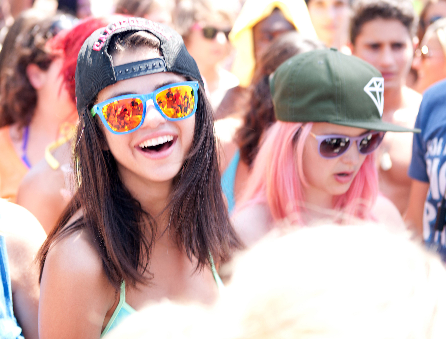 SPRING BREAKERS, from left: Selena Gomez, Rachel Korine, 2012. /©Annapurna Pictures/courtesy Everett