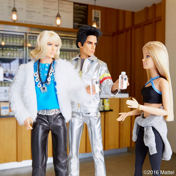 HE SPENT AN EPIC DAY WITH BARBIE IN L.A.