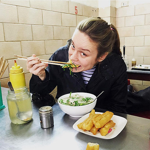 4. SHE TRIES OUT NEW FOOD ON THE REGULAR