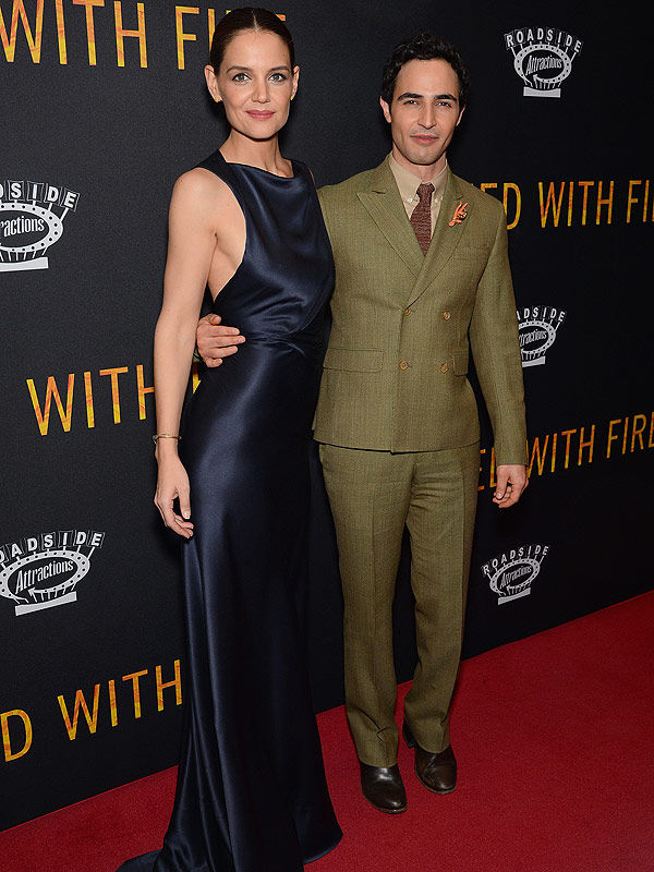 Katie Holmes Zac Posen Touched with Fire