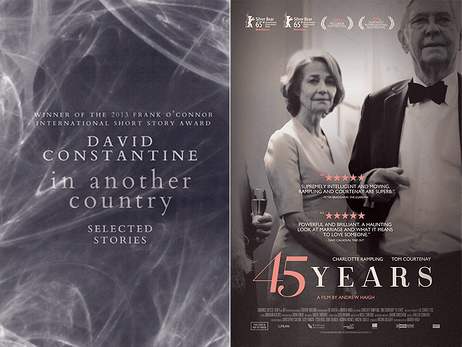 IN ANOTHER COUNTRY BY DAVID CONSTATINE: 45 YEARS