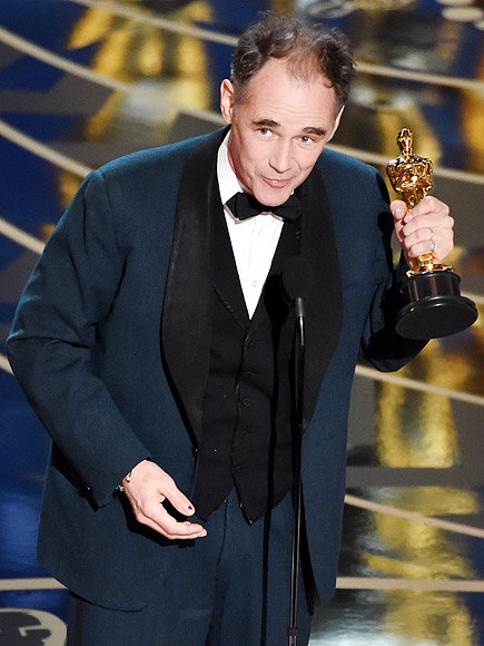 MARK RYLANCE WINS BEST SUPPORTING ACTOR