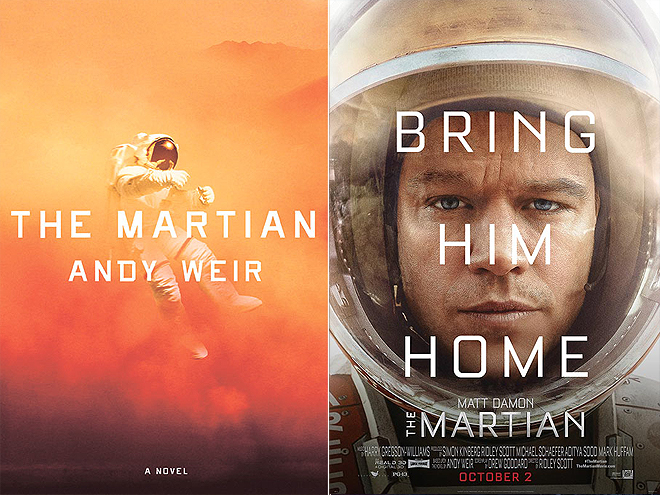 THE MARTIAN BY ANDY WEIR: THE MARTIAN