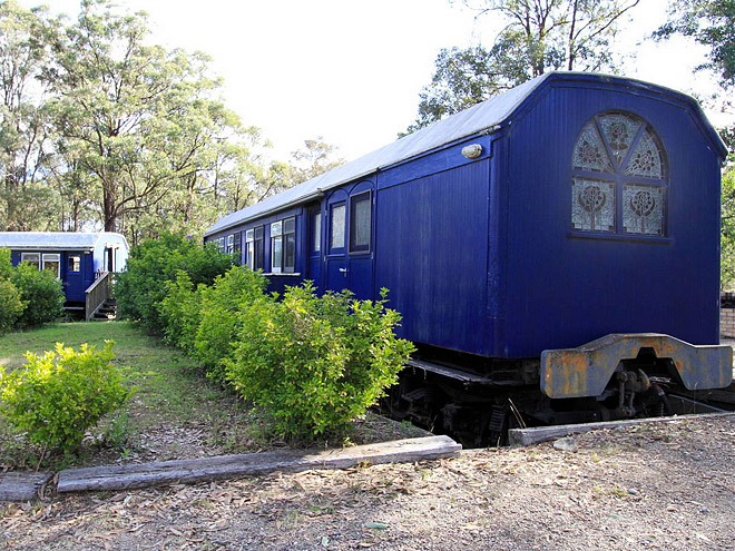 ROYAL TRAIN CARRAIGE, AUSTRALIA