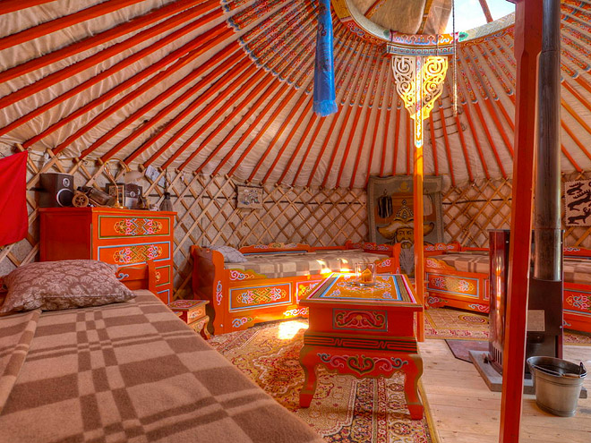 MONGOLIAN YURT, GERMANY