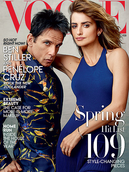 HE LANDED IN FEBRUARY'S VOGUE WITH PENéLOPE CRUZ