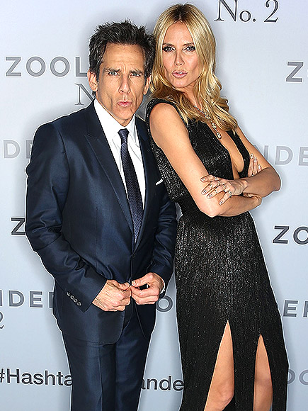 HE CONTINUED TO INSPIRE TOP MODELS WITH 'BLUE STEEL'