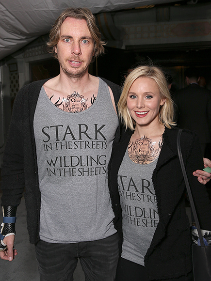 9. WHEN THEY WORE MATCHING GAME OF THRONES SHIRTS