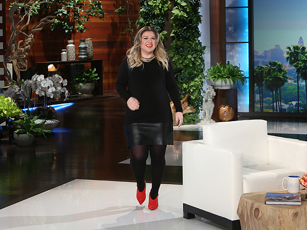Kelly Clarkson on Ellen