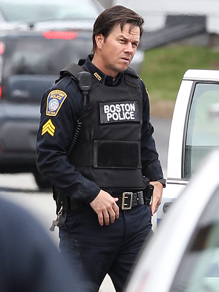 Stars spotted on the set of 'Patriots Day' in Boston, Massachusetts on April 19, 2016.