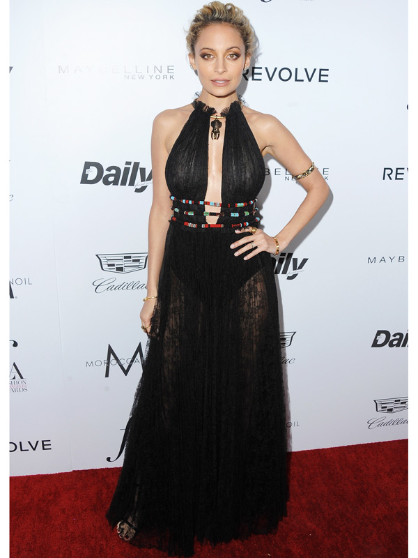 Nicole Richie The Daily Front Row Los Angeles Awards