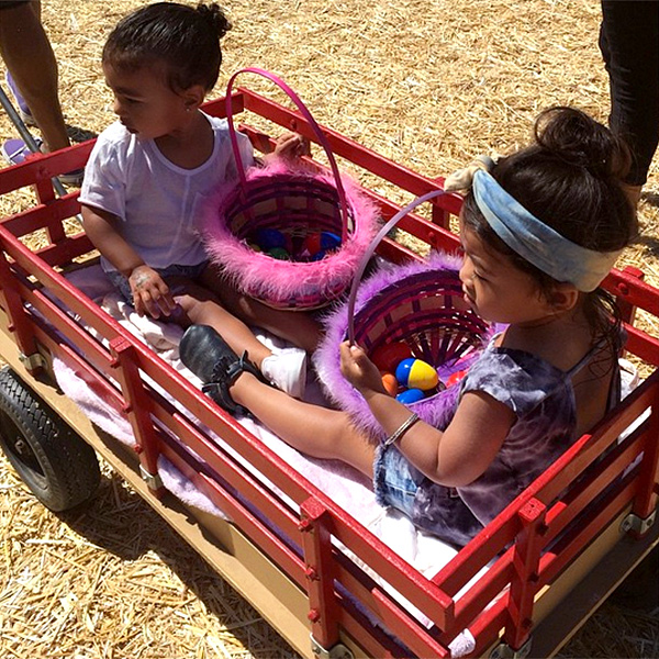 HAVE A WAGON ON HAND FOR WHEN THE LITTLE ONES GET TIRED