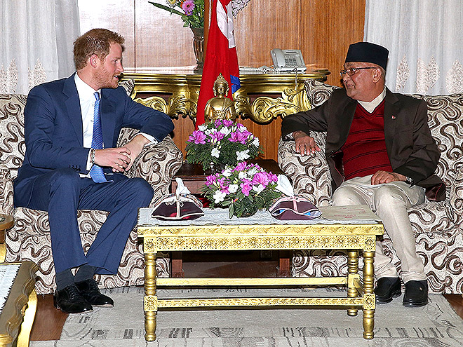 HE MET THE PRIME MINISTER