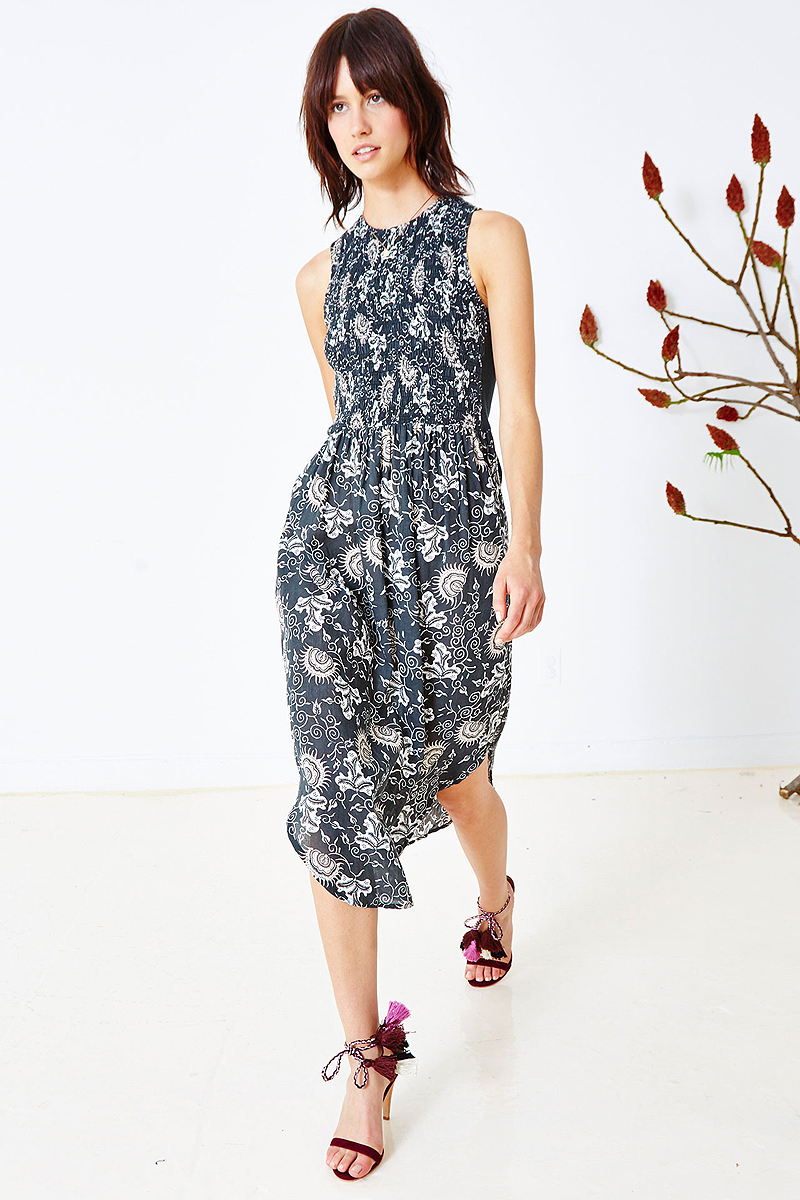Floral 'Throw-On' Dress