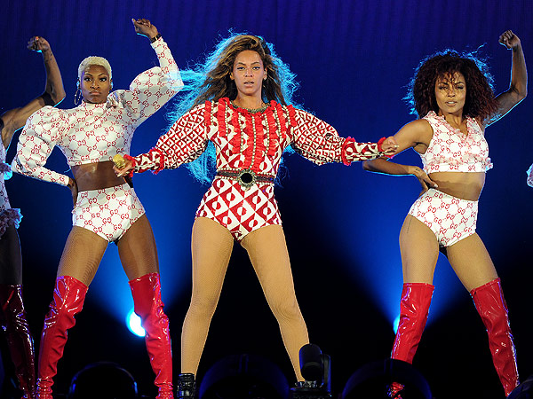 Beyonce Formation Tour Costumes