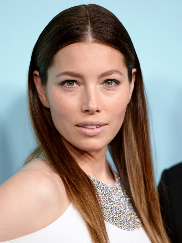 Jessica Biel Tiffany Necklace