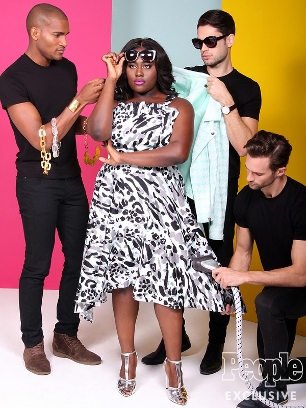 Christian Siriano for Lane Bryant Collection