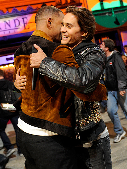 WILL SMITH AND JARED LETO