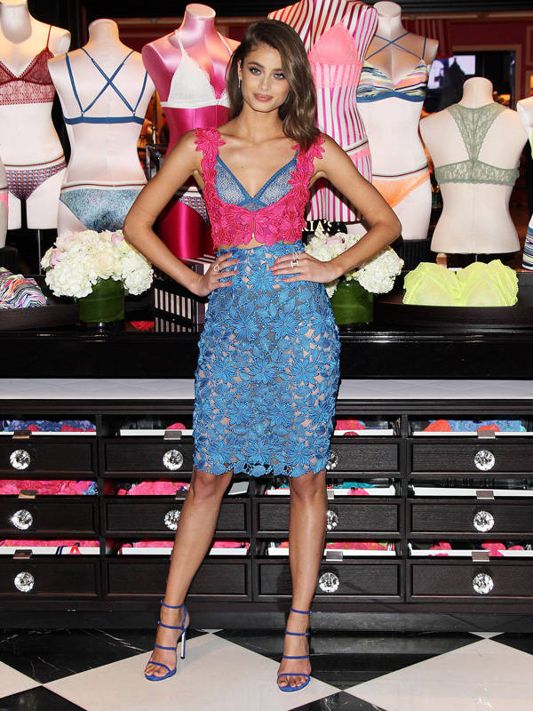 Taylor Hill Victoria's Secret Bralette Collection launch