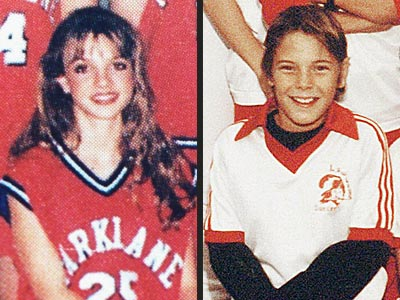 Britney Spears, 1997, and Kevin Federline, 1988