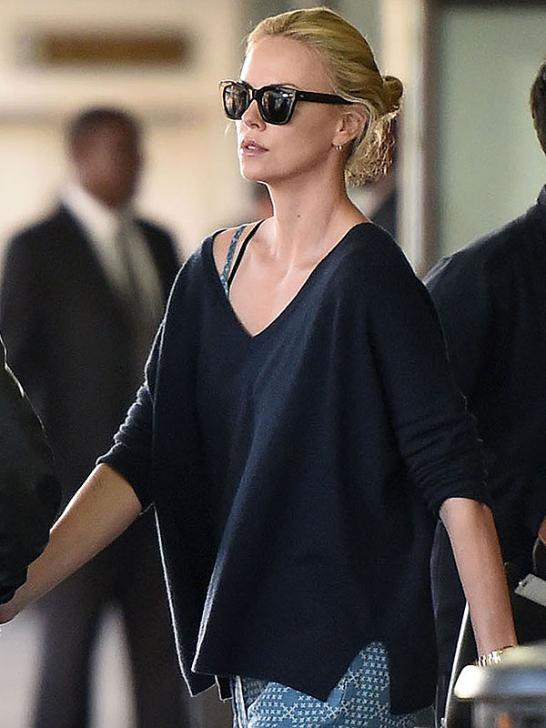 Charlize Theron wears Minnie Rose