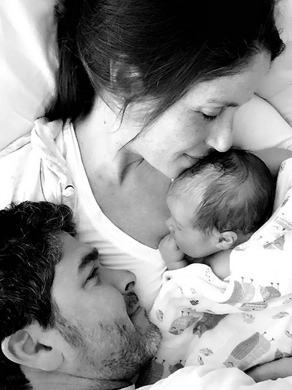 Soleil Moon Frye Welcomes Son Story