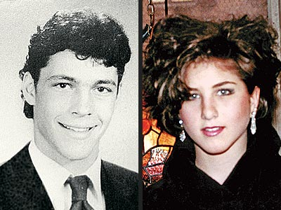 Vince Vaughn, 1988, and Jennifer Aniston, 1987