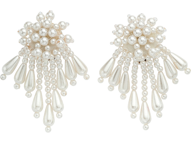 Earrings Worn at Her 1992 Wedding to Bobby Brown