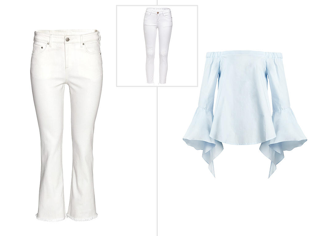 It's Back: The White Jean