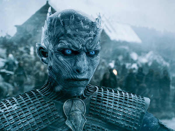 Anderson Cooper Game of Thrones White Walker