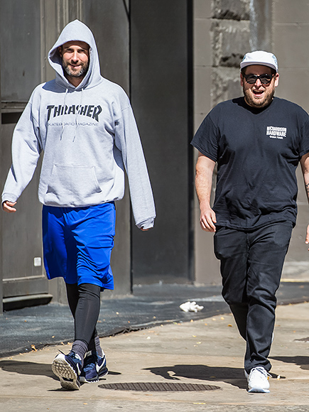 THEY'RE WALKING HERE