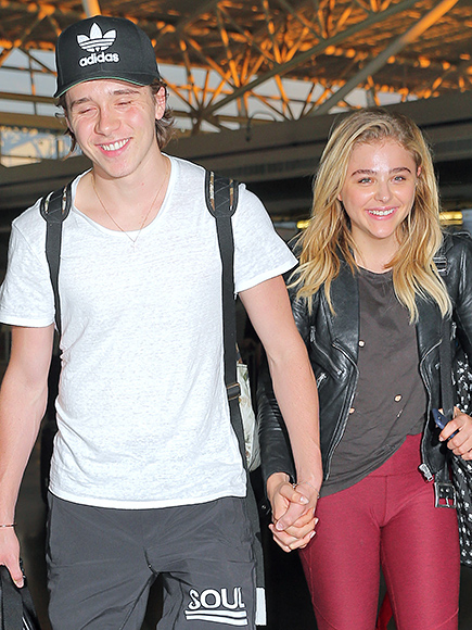 WHEN THEY LANDED IN N.Y.C. & HELD HANDS THE ENTIRE TIME