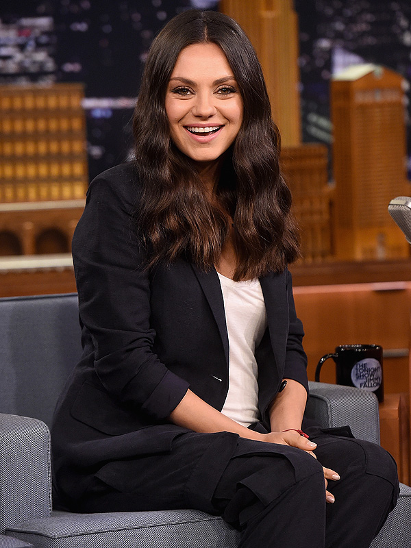 Mila Kunis Tonight Show Bad Moms