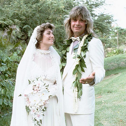 SHARON & OZZY GET MARRIED