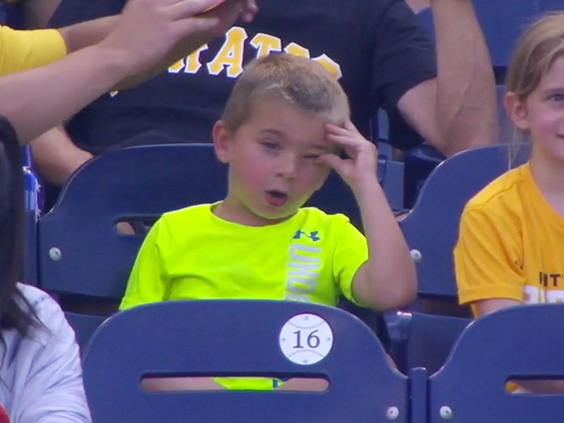 THIS PIRATES FAN WHO WENT THROUGH A ROLLER COASTER OF EMOTIONS