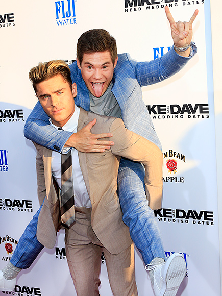 2. WHEN ZAC CARRIED ADAM DOWN THE RED CARPET LIKE A BOSS