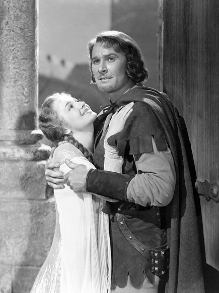 """The Adventures of Robin Hood"" Errol Flynn & Olivia De Havilland 1938 Warner Bros. **I.V."