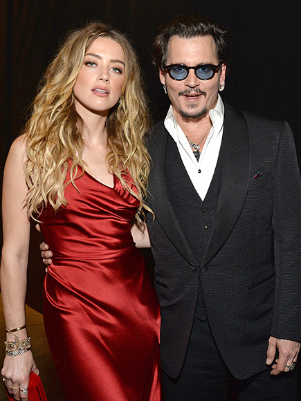 Amber Heard & Johnny Depp