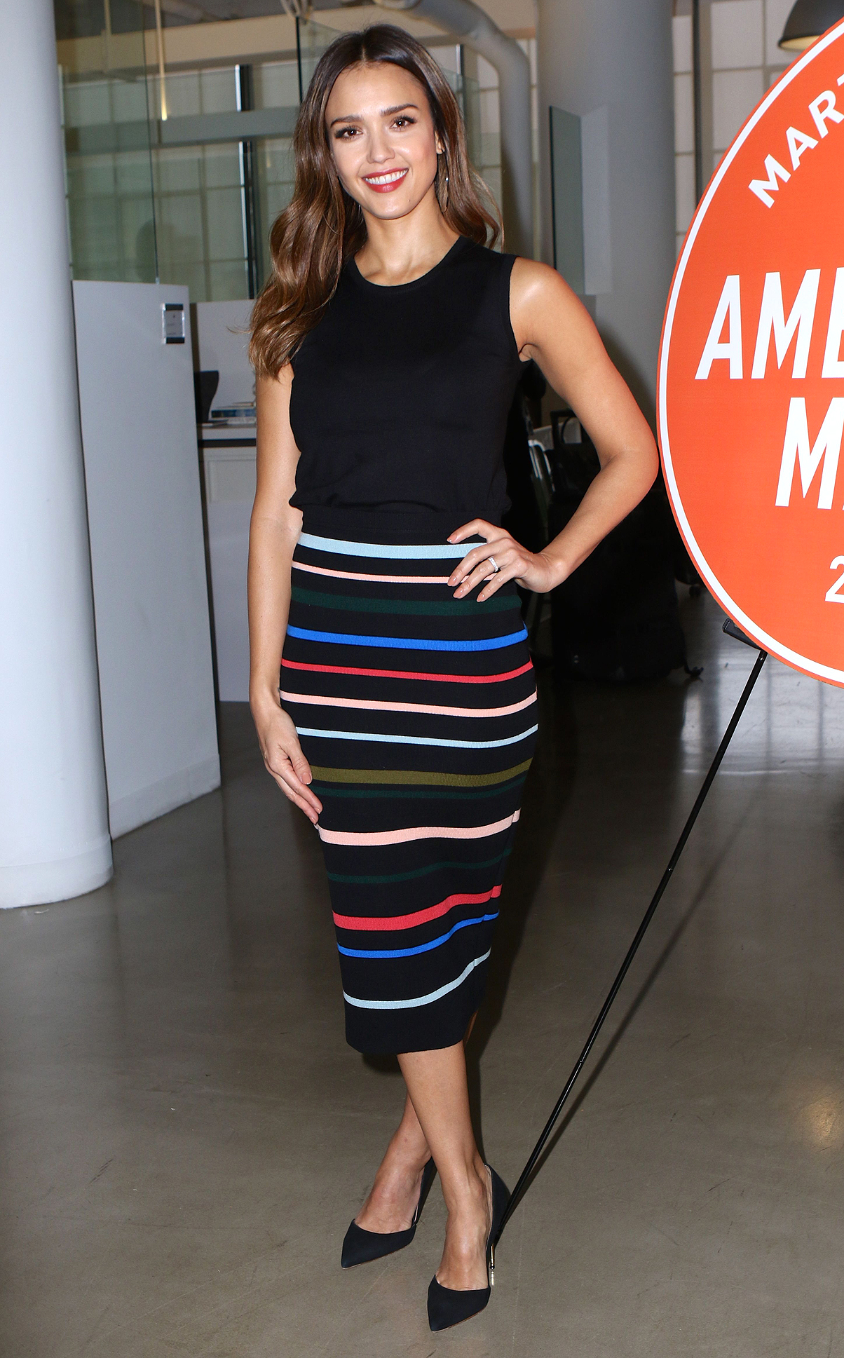 Jessica Alba and Martha Stewart attend the American Made Summit 2016 in NYC