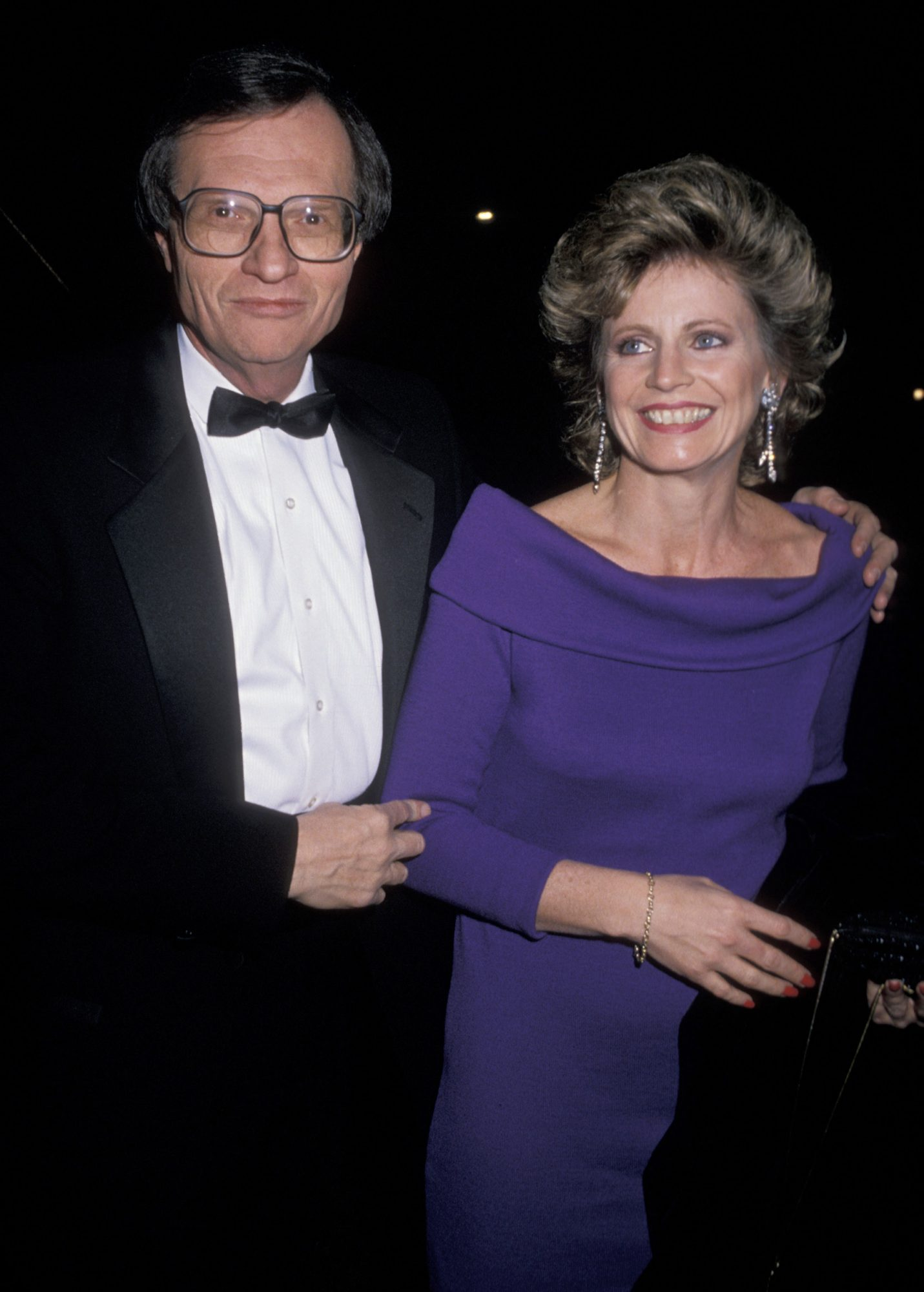 Larry King and Sharon Lepore