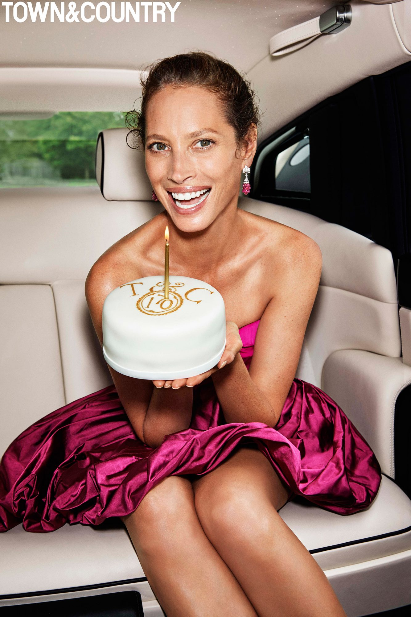 Christy Turlington Town and Country
