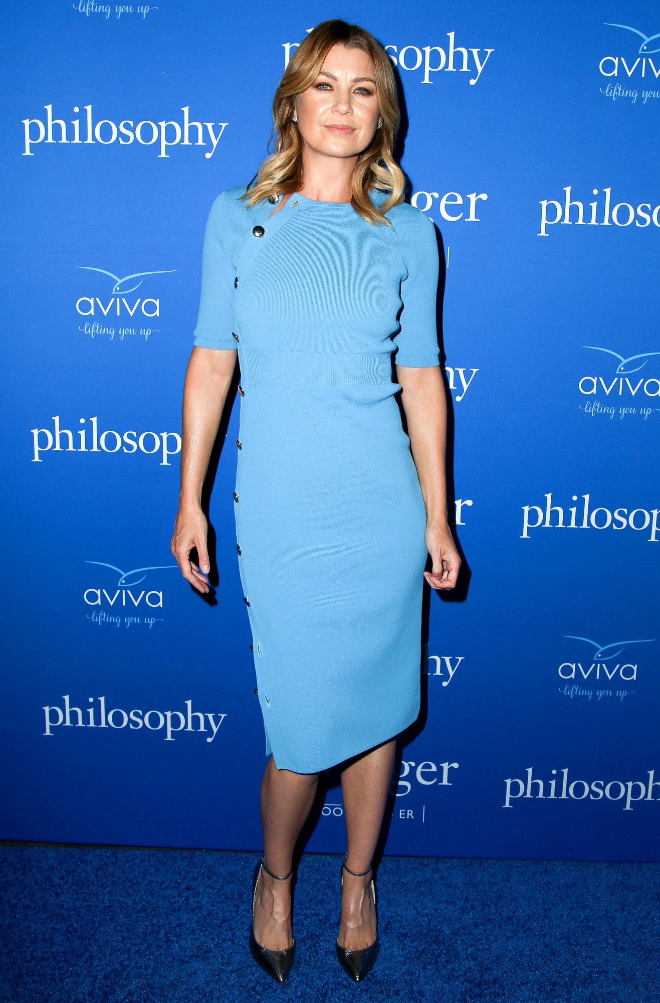Ellen Pompeo is all smiles at The Age of Cool Event in West Hollywood, CA