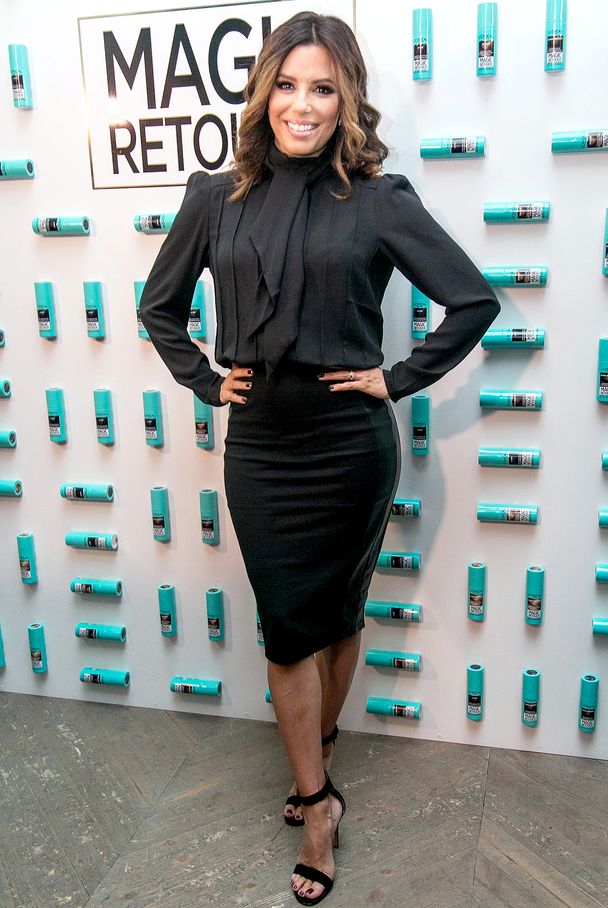 Eva Longoria at  L'Oreal press day in Moscow