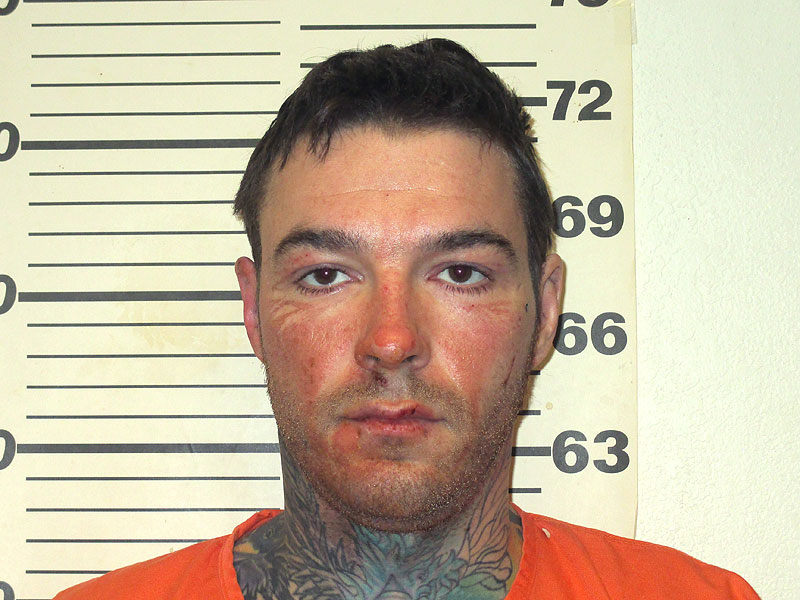 Kylr Yust as arrested for knowingly burning a vehicle belonging to a missing 21-year-old girl.