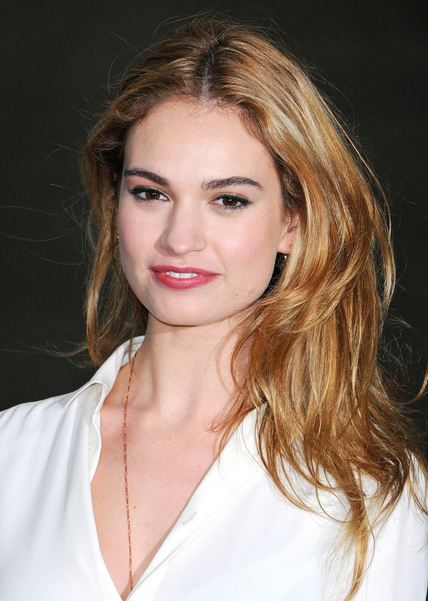 Lily James Reveals Her 5 Beauty And Fashion Obsessions People Com