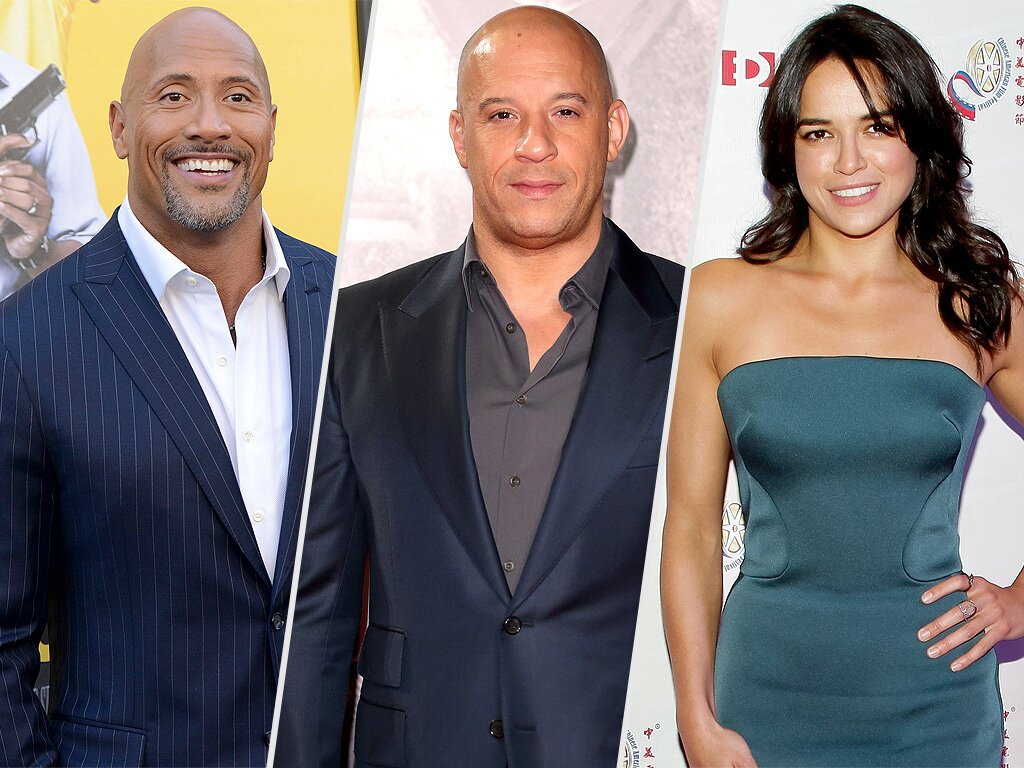 Michelle Rodriguez On Vin Diesel And The Rock S Fast 8 Feud People Com