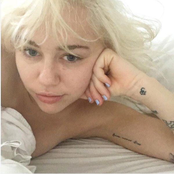 Miley Cyrus Tattoo Guide People Com